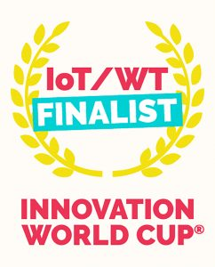Finalistenlogo des IoT/WT Innovation World Cup 2019